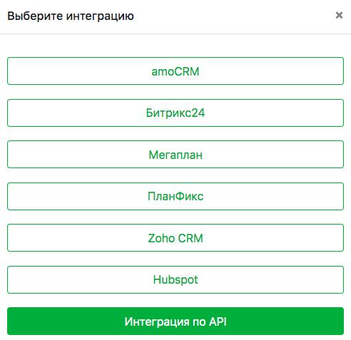 Добавить интеграцию через API и отправлять сообщения в WhatsApp